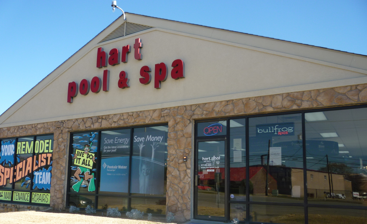 Hart Pool & Spa retail store